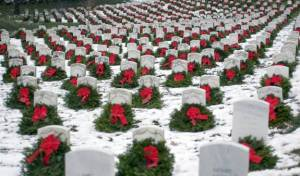 Christmas at Arlington National Cemetery!